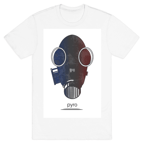 Team Fortress 2 (Pyro) Mens T-Shirt