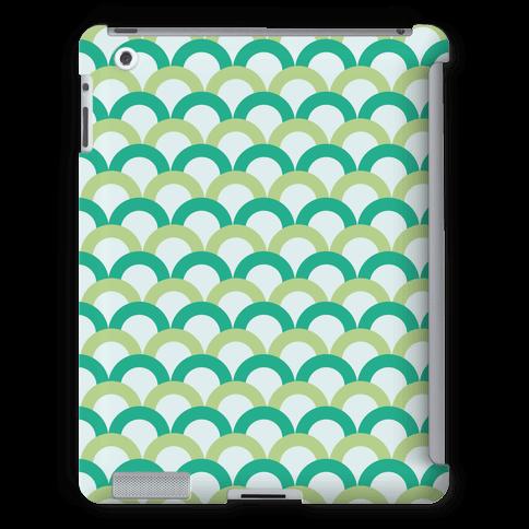 Green Scale Pattern