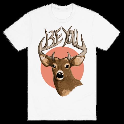 Deer- Be You Mens T-Shirt