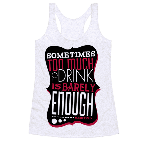 Inspired by Mark Racerback Tank Top