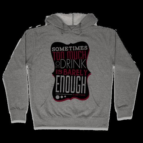 Inspired by Mark Hooded Sweatshirt
