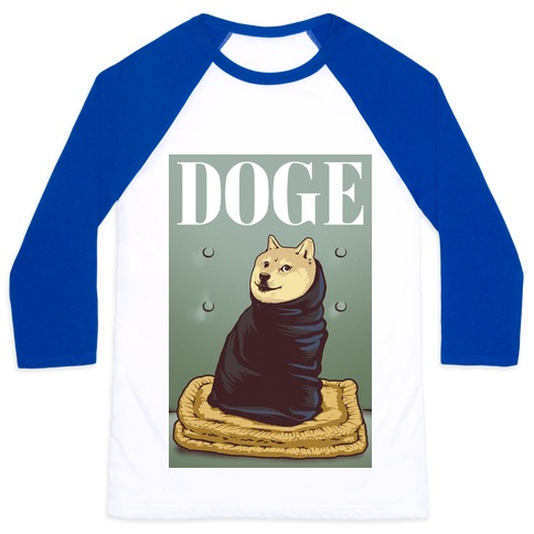 Fashion Doge (vogue parody) Baseball Tee