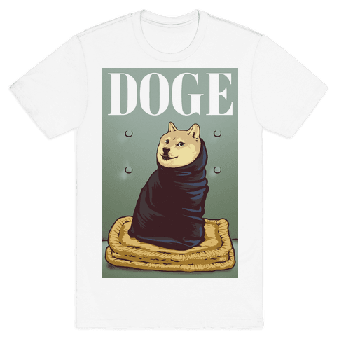 Fashion Doge (vogue parody) Mens T-Shirt