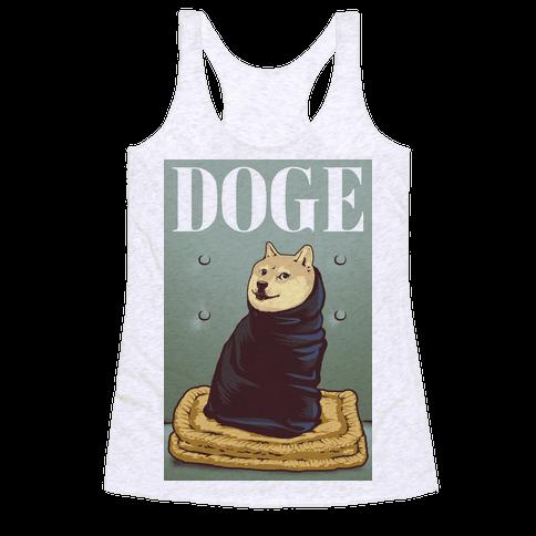 Fashion Doge (vogue parody) Racerback Tank Top