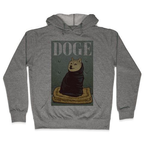 Fashion Doge (vogue parody) Hooded Sweatshirt