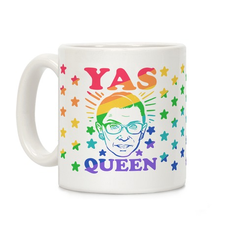 Yas Queen RBG Coffee Mug