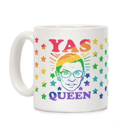 Yas Queen RBG Coffee Mug