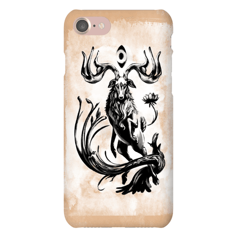 Three Eyed Elk Phone Case