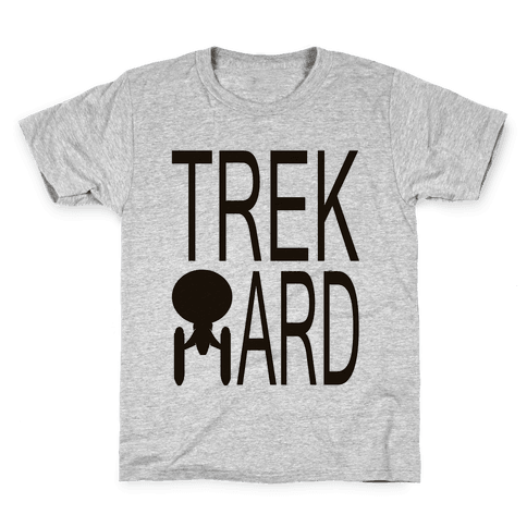 TREK HARD Kids T-Shirt
