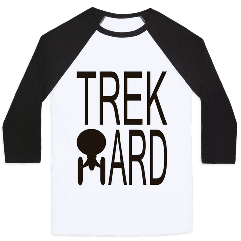 TREK HARD Baseball Tee