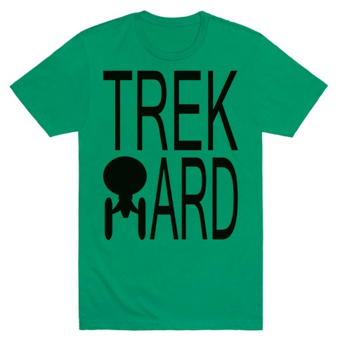 TREK HARD Mens T-Shirt
