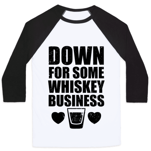 Whiskey Business (Tank) Baseball Tee