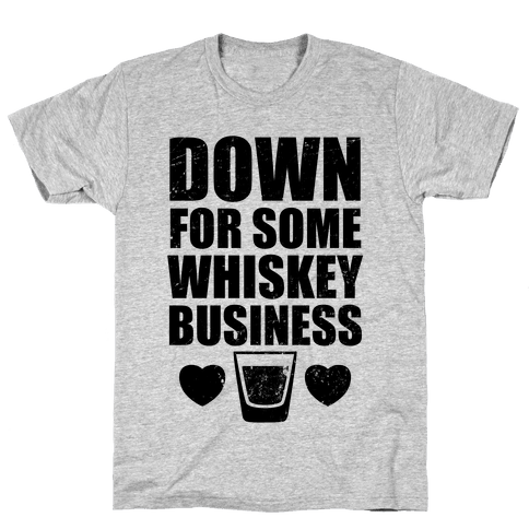 Whiskey Business (Tank) Mens T-Shirt