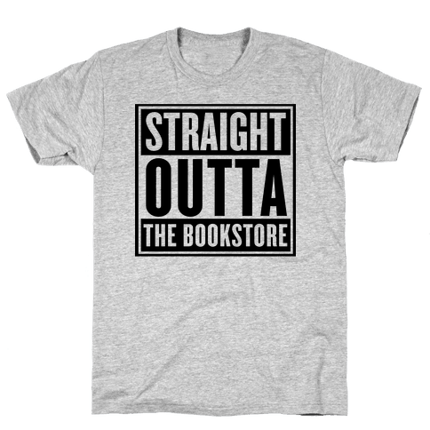Straight Outta the Bookstore Mens T-Shirt
