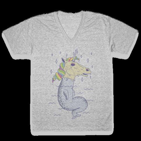 Unicorn Impostor V-Neck Tee Shirt