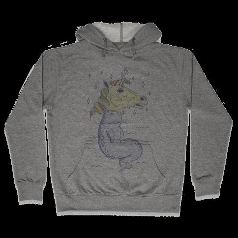 Unicorn Impostor Hooded Sweatshirt