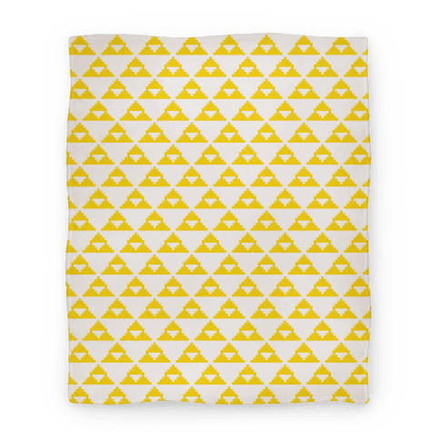 Pixel Triforce Blanket