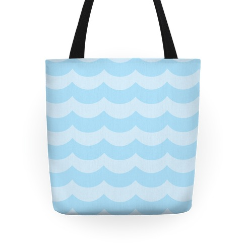Waves Pattern Tote