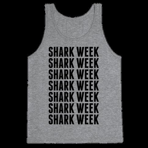 Shark Week Tank Top