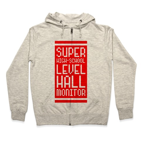 aee5e6d1 Super High-School Level Hall Monitor Hoodie | LookHUMAN