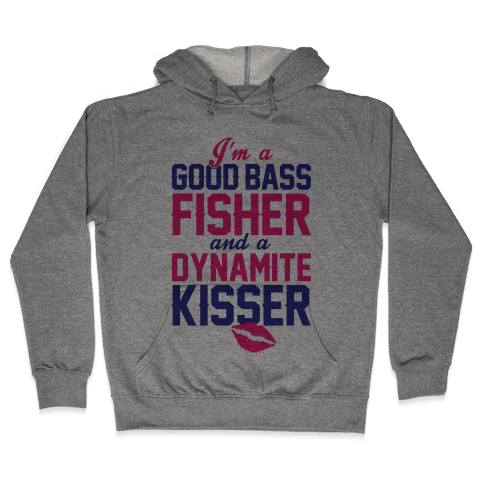 Bass Fisher And Dynamite Kisser Hooded Sweatshirt