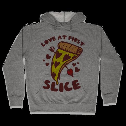 Love At First Slice Hooded Sweatshirt