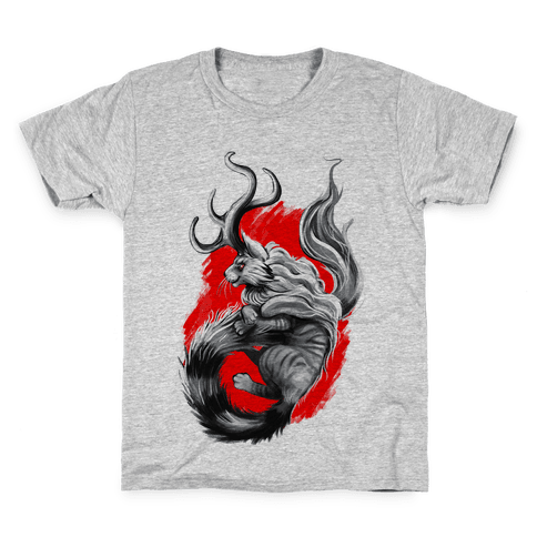 Catalope and Red Kids T-Shirt