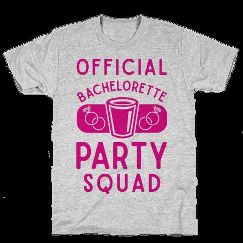 Official Bachelorette Party Squad Mens T-Shirt