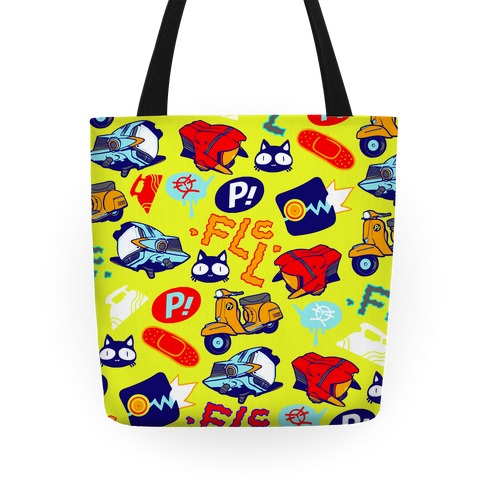 FLCL Anime Pattern Tote