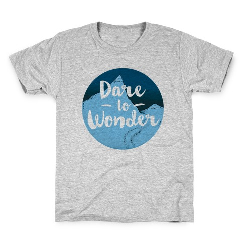 Dare To Wonder Kids T-Shirt
