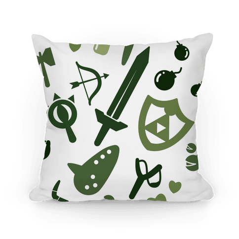 Link's Inventory Pillow
