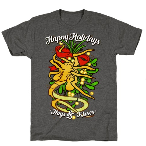 Happy Holidays Hugs and Kisses T-Shirt