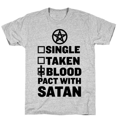 Blood Pact With Satan T-Shirt