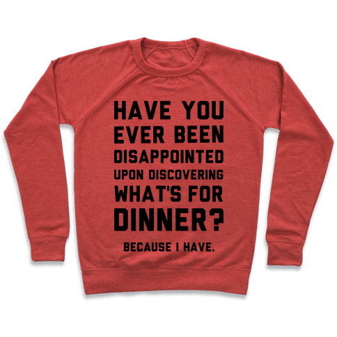 What's For Dinner Pullover