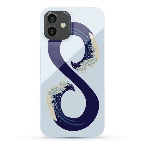 Ocean Infinity (Dark Blue) Phone Case