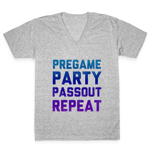 Party Cycle V-Neck Tee Shirt