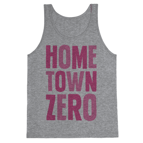 Hometown Zero Tank Top