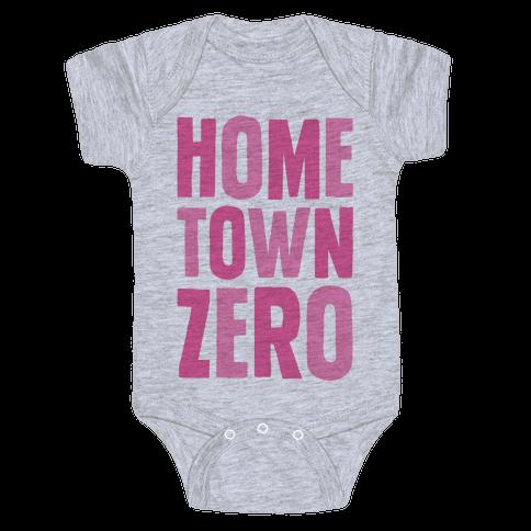 Hometown Zero Baby Onesy