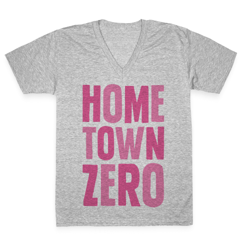 Hometown Zero V-Neck Tee Shirt