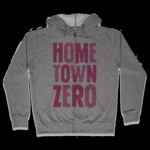 Hometown Zero Zip Hoodie