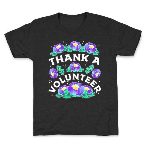 Thank a Volunteer Kids T-Shirt