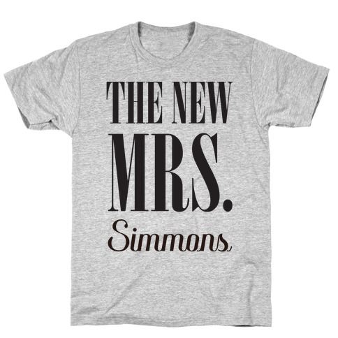 The New Mrs. Simmons T-Shirt