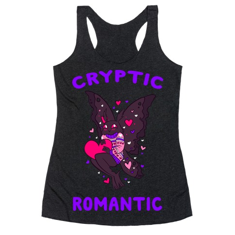 Cryptic Romantic Racerback Tank Top