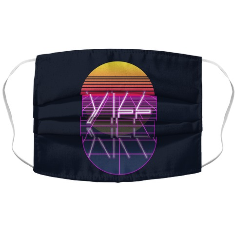 Synthwave Yiff Accordion Face Mask
