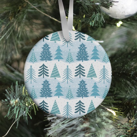 Christmas Tree Pattern Ornament