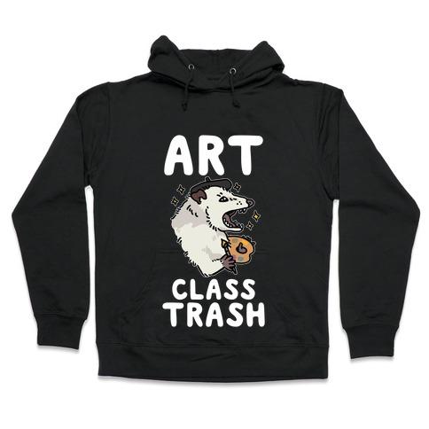 Art Class Trash Opossum Hooded Sweatshirt