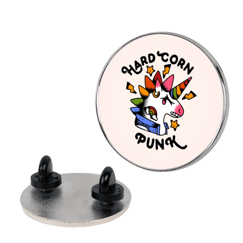 Hard Corn Punk Pin