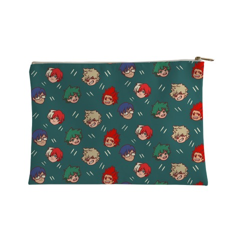 My Hero Academia Pattern Accessory Bag