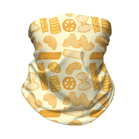 Pasta Pattern Neck Gaiter