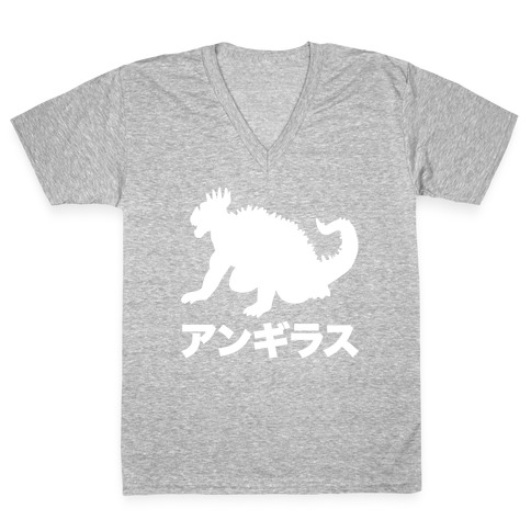 Anguirus V-Neck Tee Shirt
